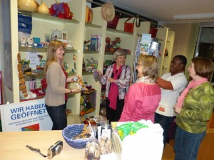 2013 Besuch Paula Iten und Romulus Luckner, KOFIP Koordinator Kleinkassensystem Haiti